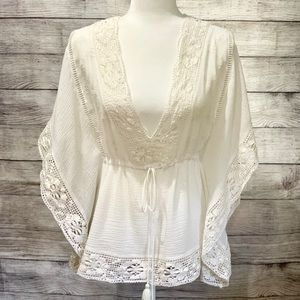 Zara Trafaluc Collection BoHo Blouse
